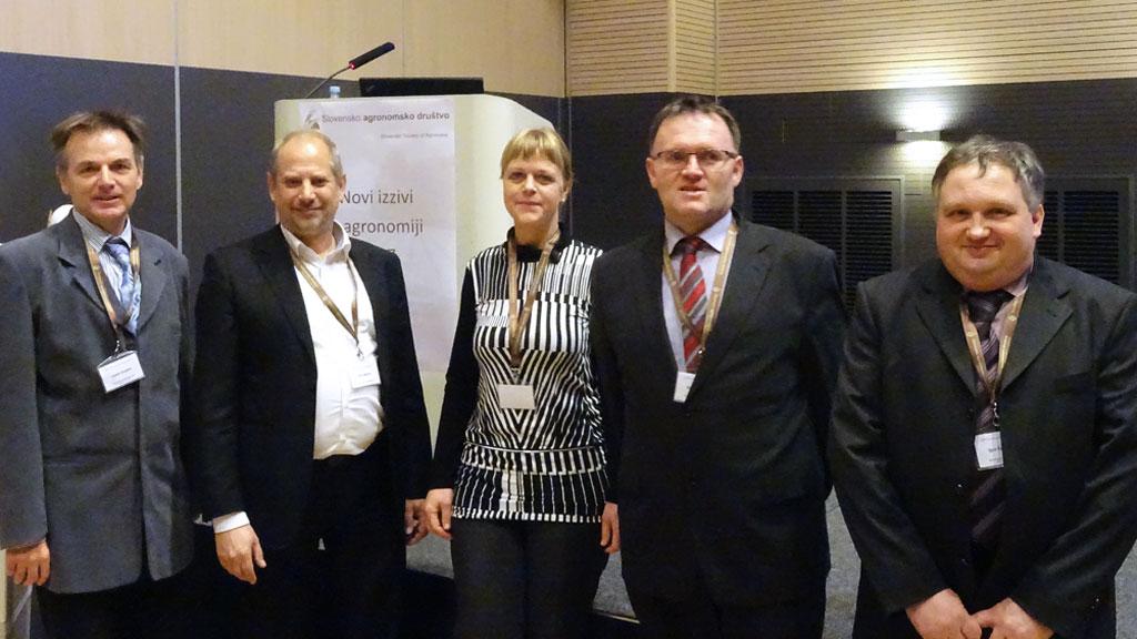 Izvršni odbor - slovensko agronomsko društvo na simpoziju 2017